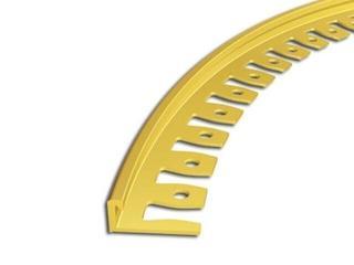 Listwa zakończeniowa 10mm MOS mosiężny 05 dł. 2,5m 6-00617-05-250 Zic Zac