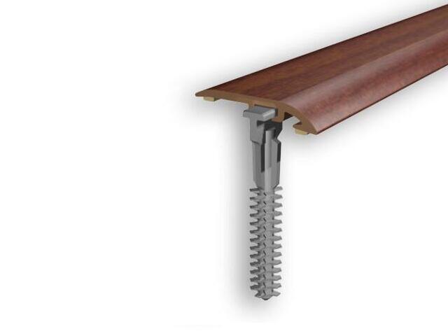 Listwa zakończeniowa 32mm PVC mahoń 7E dł. 2 m D-Z0100-7E-200 Myck