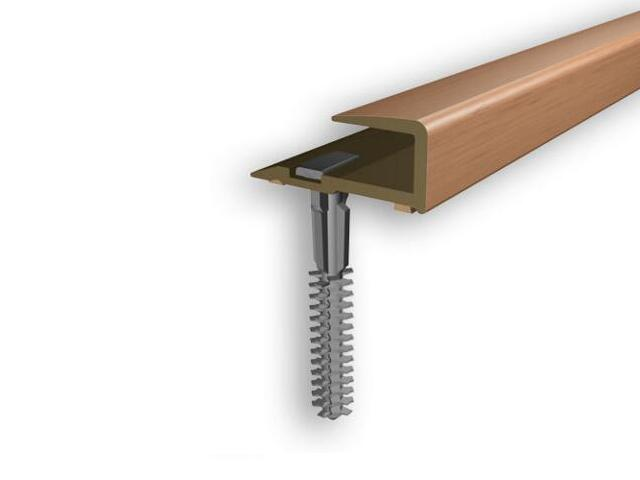 Listwa zakończeniowa 16x25x8 PVC buk 1E dł. 2m D-Z0200-1E-200 Myck