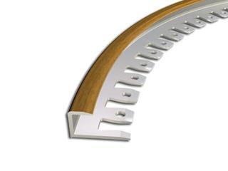 Listwa zakończeniowa 9x10 ALU buk 14 dł. 2,5m 2-29166-14-250 Zic Zac