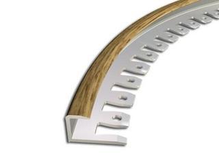 Listwa zakończeniowa 9x10 ALU dąb 15 dł. 2,5m 2-29166-15-250 Zic Zac