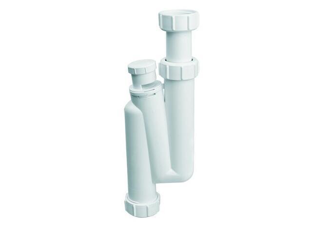 """Syfon umywalkowy rurowy pionowy 5/4""""x32mm z zaw. napowietrzającym bez spustu (HC3V) McAlpine"""