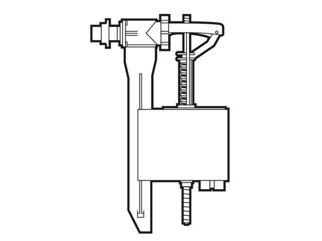 Zawór napełniający boczny Victoria/Polo Plus/DSC&Square A822011001 Roca