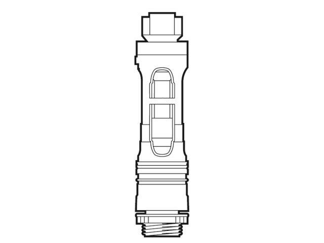 Zawór spustowy 3/6L Nexo/DSC&S/HALL/Happening/Element A822023800 Roca