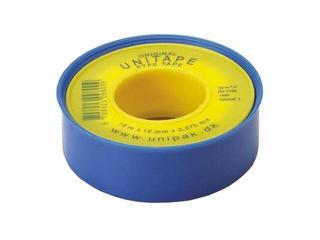 Taśma teflonowa UNITAPE 0,075mm x 12mm x 12mb Unipak