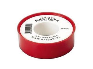 Taśma teflonowa MAXITAPE gaz 0,1mm x 12mm x 12mb MD Unipak