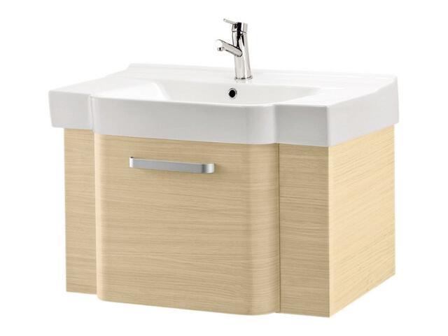 Zestaw szafka VIRTUS jasny dąb (S523-006) z umywalką meblową DECO 90 (K12-007)
