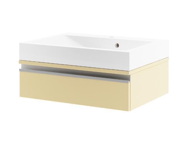 Szafka podumywalkowa PORTOFINO 60 z szufladą wanilia 0401-242602 Aquaform