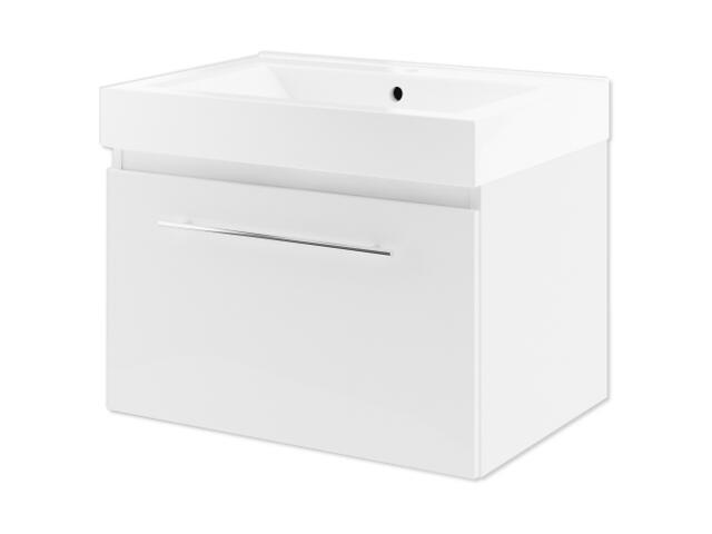 Szafka podumywalkowa DECORA 70 biały 0401-540111 Aquaform