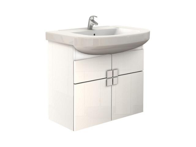 Szafka podumywalkowa PRIMO wisząca z szufladą 70x62,5x34,8cm biały połysk 89109000 Koło
