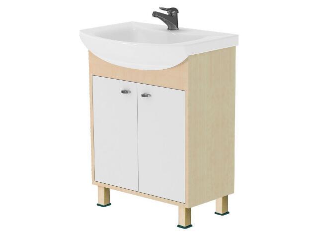 Szafka podumywalkowa CATANIA pod umywalkę meblową OMEGA 65 S502-008