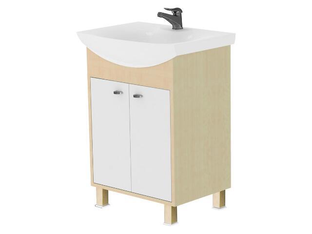 Szafka podumywalkowa CATANIA pod umywalkę meblowa CREMONA 60 S502-010