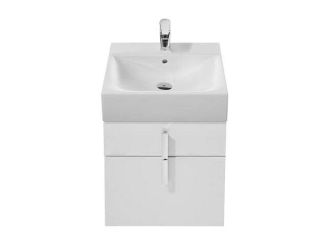 Szafka podumywalkowa Diverta z dwoma szufladami 45,3x42,5x51cm biały A856460006 Roca