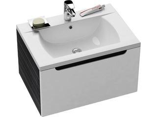 Szafka podumywalkowa SD CLASSIC 700 biały/strip onyx X000000244 Ravak