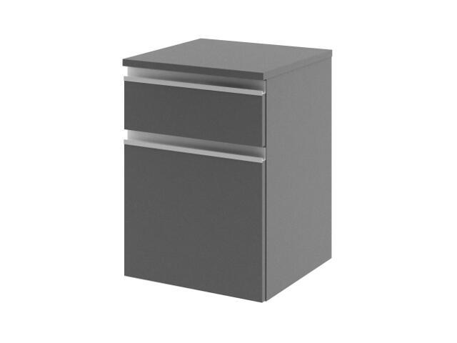 Szafka łazienkowa wisząca PORTOFINO z szufladami antracyt 0411-242003 Aquaform
