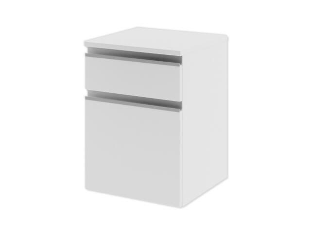 Szafka łazienkowa wisząca PORTOFINO z szufladami biała 0411-240103 Aquaform