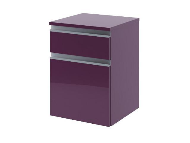 Szafka łazienkowa wisząca PORTOFINO z szufladami fiolet 0411-242803 Aquaform