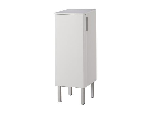 Półsłupek łazienkowy REKORD 88165000 niski biały Koło
