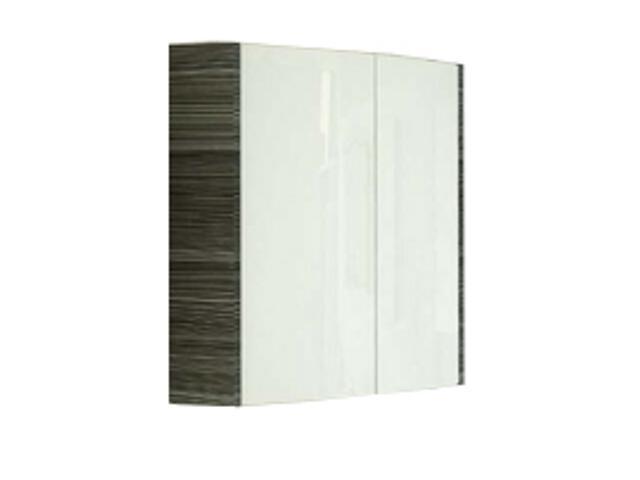 Szafka wisząca SHC 600 UNI PRAKTIK, ROSA górna biały/strip onyx X000000317 Ravak
