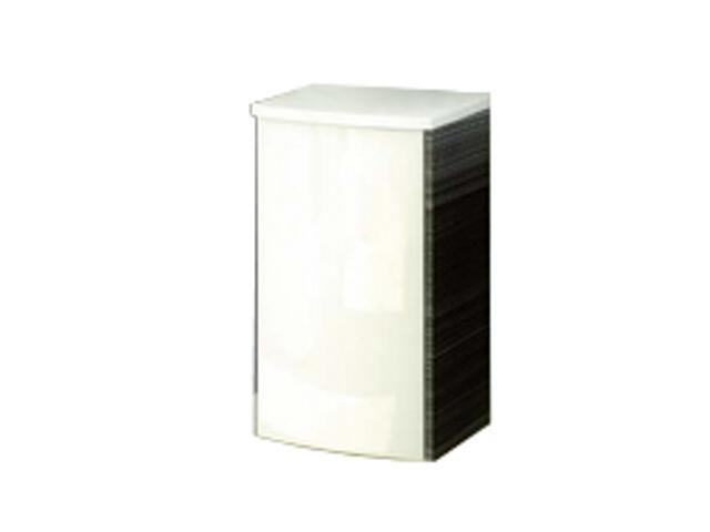 Szafka wisząca PS UNI PRAKTIK, ROSA dolna biały/strip onyx X000000318 Ravak