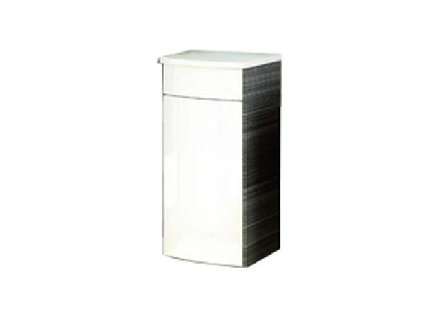 Szafka wisząca PS UNI PRAKTIK, ROSA dolna lewa biały/strip onyx X000000319 Ravak