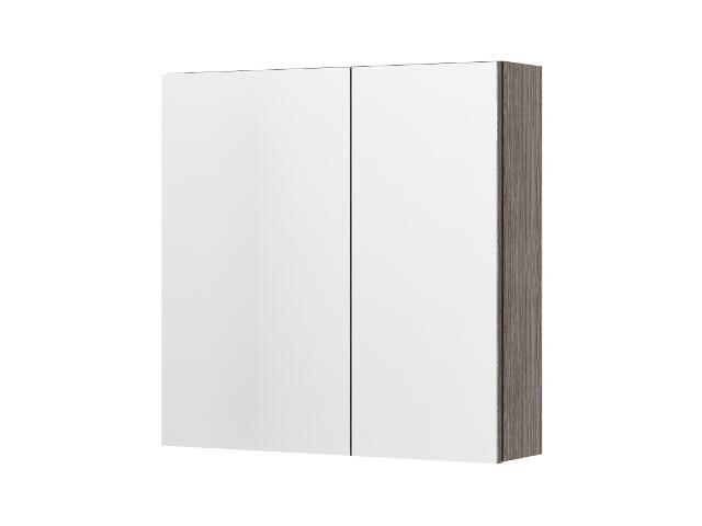 Szafka łazienkowa wisząca z lustrem RIO choco 0408-412401 Aquaform