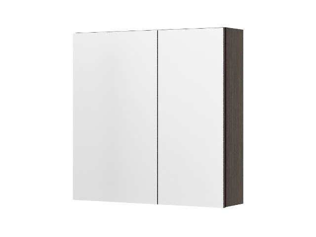 Szafka łazienkowa wisząca z lustrem RIO legno ciemne 0408-411601 Aquaform