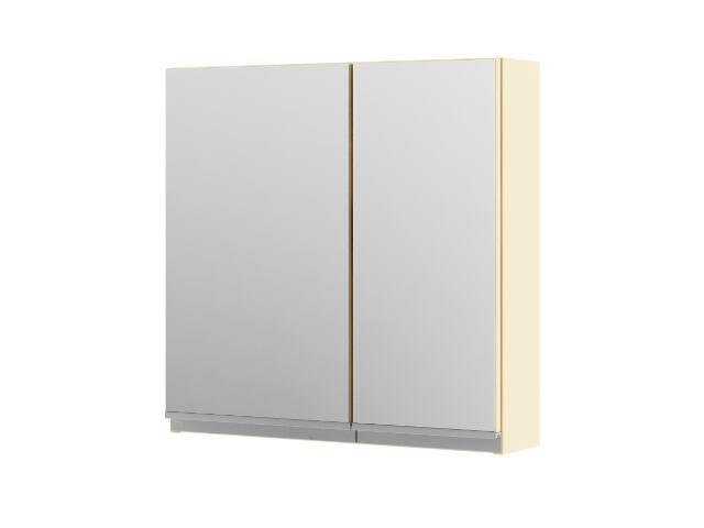 Szafka łazienkowa wisząca z lustrem PORTOFINO wanilia 0408-242601 Aquaform