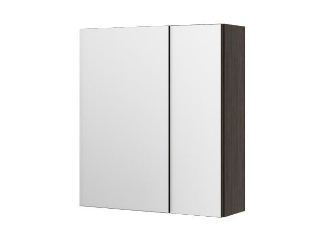Szafka łazienkowa wisząca z lustrem PALERMO legno ciemne 0408-581611 Aquaform