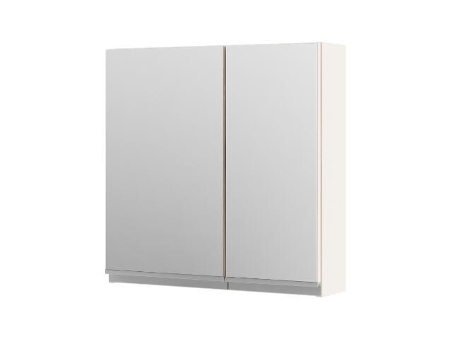 Szafka łazienkowa wisząca z lustrem PORTOFINO cappuccino 0408-242701 Aquaform