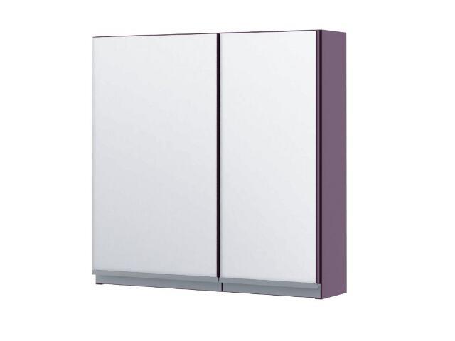 Szafka łazienkowa wisząca z lustrem PORTOFINO fiolet 0408-242801 Aquaform