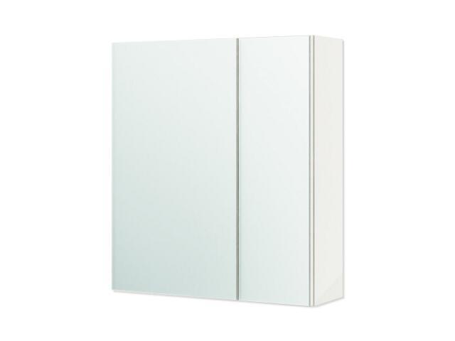 Szafka łazienkowa wisząca z lustrem PALERMO cappuccino 0408-582711 Aquaform