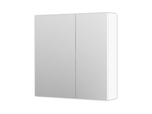 Szafka łazienkowa wisząca z lustrem AMSTERDAM 60 biała 0408-200111 Aquaform