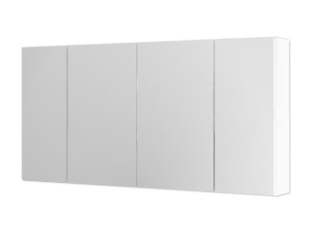 Szafka łazienkowa wisząca z lustrem AMSTERDAM 120 biała 0408-200112 Aquaform