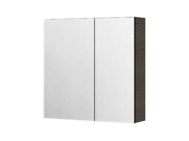 Szafka łazienkowa wisząca z lustrem SAN REMO legno ciemne 0408-401601 Aquaform