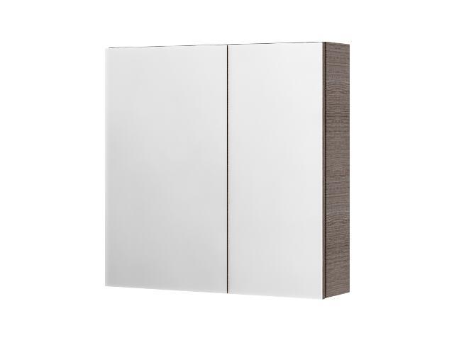 Szafka łazienkowa wisząca z lustrem SAN REMO choco 0408-402401 Aquaform