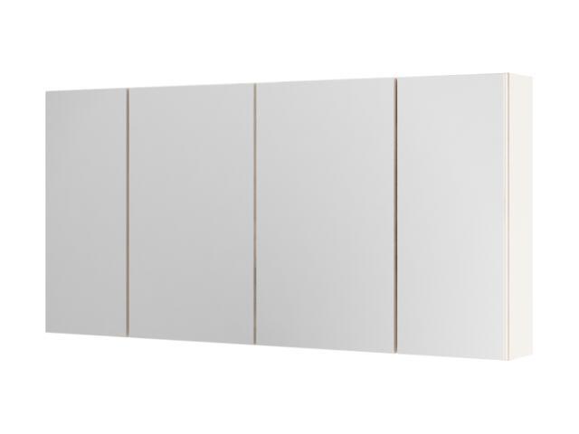 Szafka łazienkowa wisząca z lustrem AMSTERDAM 120 cappuccino 0408-202712 Aquaform