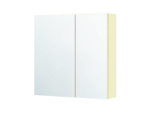 Szafka łazienkowa wisząca z lustrem SAN REMO wanilia 0408-402601 Aquaform
