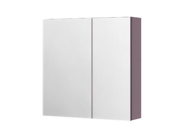 Szafka łazienkowa wisząca z lustrem SAN REMO fiolet 0408-402801 Aquaform