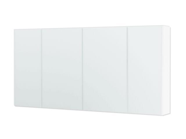 Szafka łazienkowa wisząca z lustrem CARMEN 120 biała 0408-510111 Aquaform
