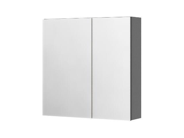 Szafka łazienkowa wisząca z lustrem SAN REMO antracyt 0408-402001 Aquaform