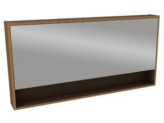 Szafka łazienkowa wisząca z lustrem OVUM/EGO 120x60x13,5cm teak 88330000 Koło