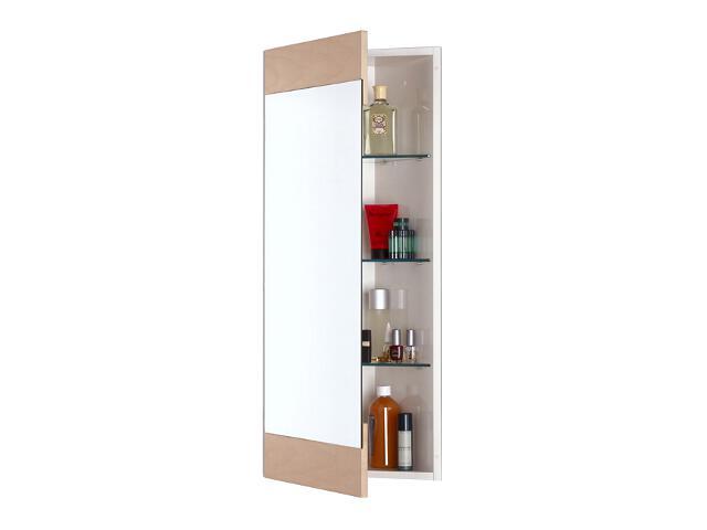 Szafka łazienkowa wisząca z lustrem Corner kolor drewno klonowe A849600600 Roca