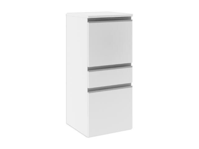 Półsłupek łazienkowy PORTOFINO z drzwiami i szufladą prawy biały 0415-240102 Aquaform