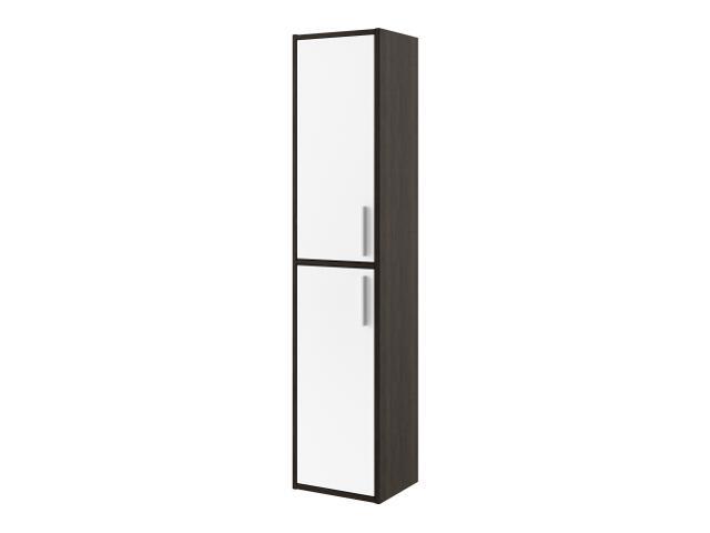 Słupek łazienkowy RIO legno ciemne/biały 0415-411601 Aquaform