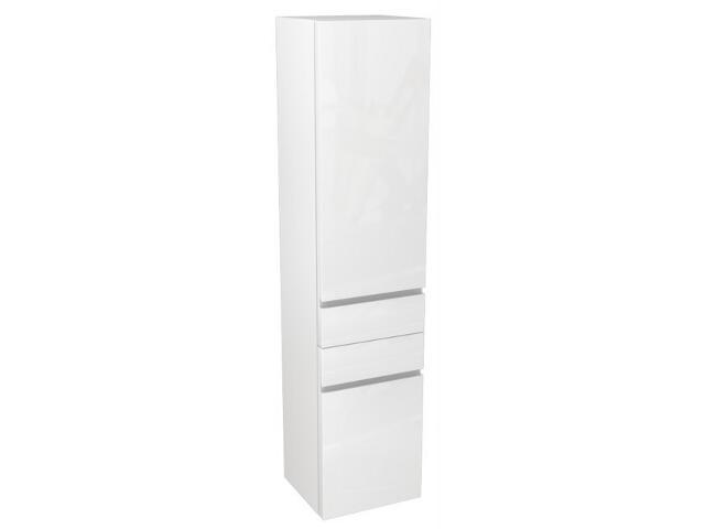 Słupek łazienkowy DOMINO boczny prawy biały połysk 88306000 Koło