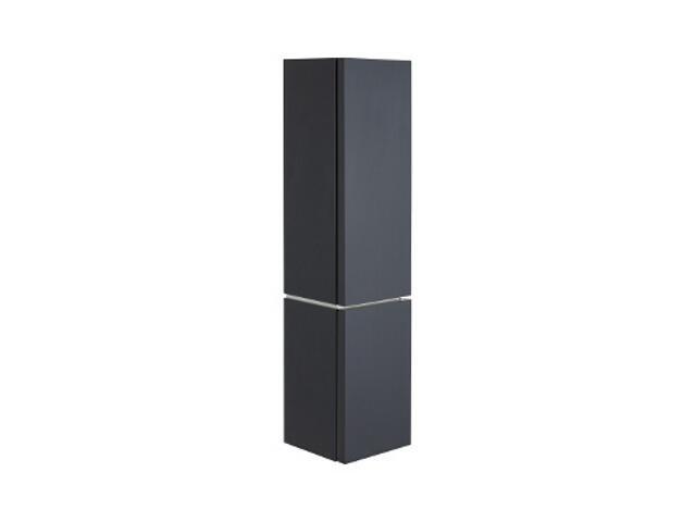 Słupek łazienkowy VARIUS 36,5x152,2x36,2cm z koszem na bieliznę ciemny grafit 88154000 Koło