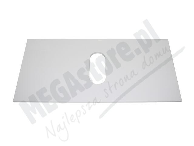 Blat do szafki DOMINO XL z wycięciem na środku 96x1,6x46cm biały połysk 89312000 Koło