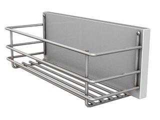 Kosz do szafki DOMINO wysuwny 12,7x11,5x31cm biały/chrom 88312000 Koło