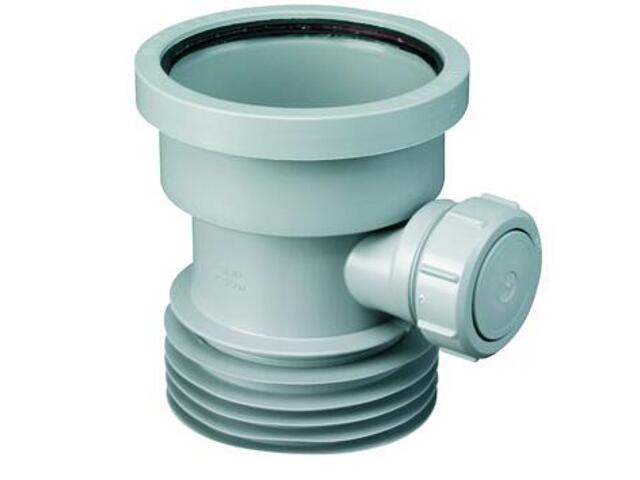 Złącze do WC 110mm/110mm z odejściem 40mm (DC1-GR-BO) McAlpine